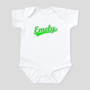 Retro Emely (Green) Infant Bodysuit