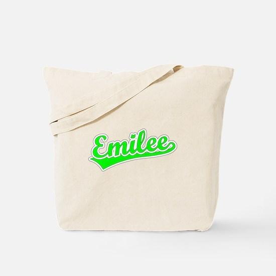 Retro Emilee (Green) Tote Bag