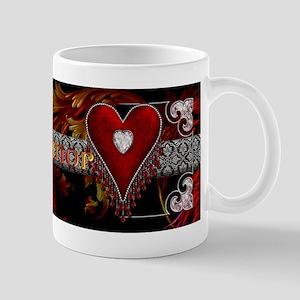 Harvest Moons Diamond Heart Mugs
