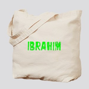 Ibrahim Faded (Green) Tote Bag