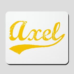Vintage Axel (Orange) Mousepad