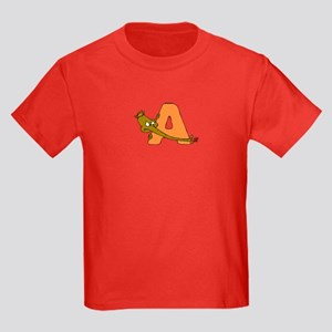 A is for Anteater Kids Dark T-Shirt