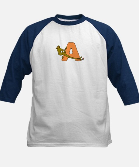 A is for Anteater Kids Baseball Jersey