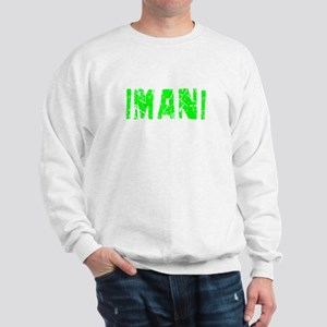 Imani Faded (Green) Sweatshirt