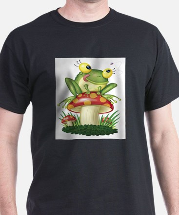 Frog & Toad stool (Front only) T-Shirt