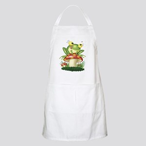 Frog & Toad stool BBQ Apron