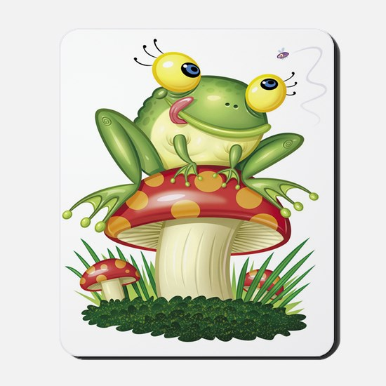 Frog & Toad stool Mousepad