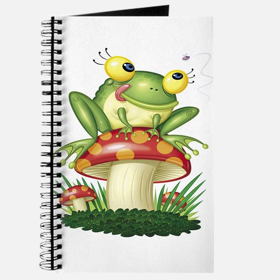 Frog & Toad stool Journal