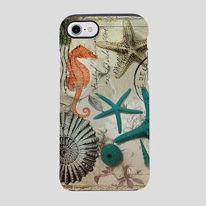 nautical seashells beach sta iPhone 8/7 Tough Case