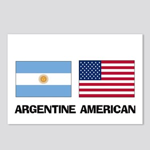 Argentine American Postcards (Package of 8)