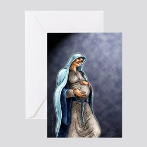 Mary's Song Greeting Card