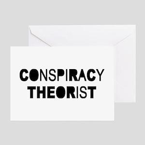 Conspiracy Greeting Card