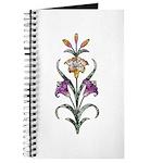 Purple Floral Art Journal