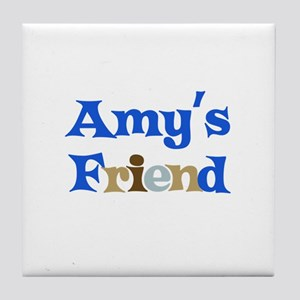 Amy's Friend Tile Coaster