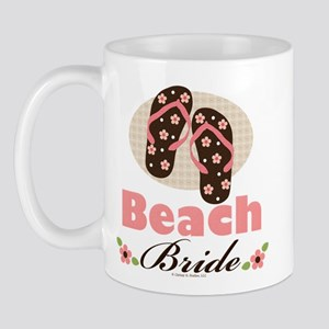 Beach Bride Wedding Mug