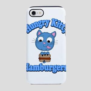 Hungry Kitty Hamburgers iPhone 8/7 Tough Case
