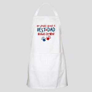 Hands Down Best Dad BBQ Apron