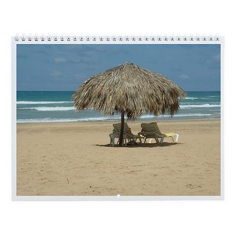 Tropical Scenes Wall Calendar