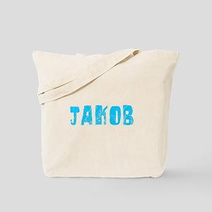 Jakob Faded (Blue) Tote Bag