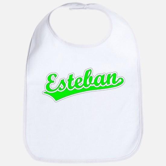 Retro Esteban (Green) Bib