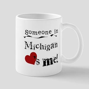 Someone in Michigan Mug