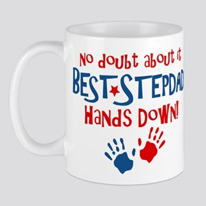 Hands Down Best Stepdad Mug