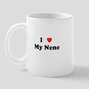 I Love My Nene Mug