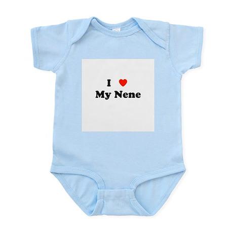 I Love My Nene Infant Bodysuit