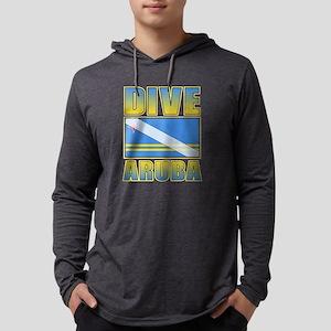Scuba Dive Aruba Long Sleeve T-Shirt