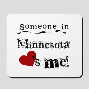 Minnesota Loves Me Mousepad