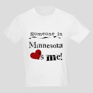 Minnesota Loves Me Kids Light T-Shirt