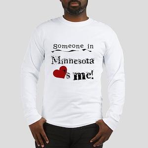 Minnesota Loves Me Long Sleeve T-Shirt