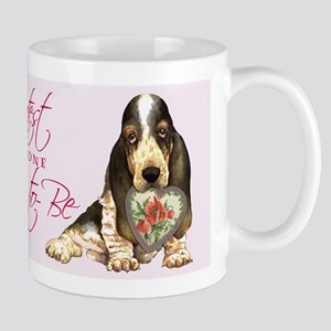 Basset Mom-to-Be Mug