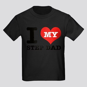 I Love My Step Dad T-Shirt