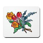 Floral Art Bouquet Mousepad