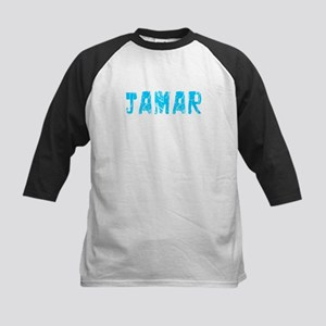 Jamar Faded (Blue) Kids Baseball Jersey
