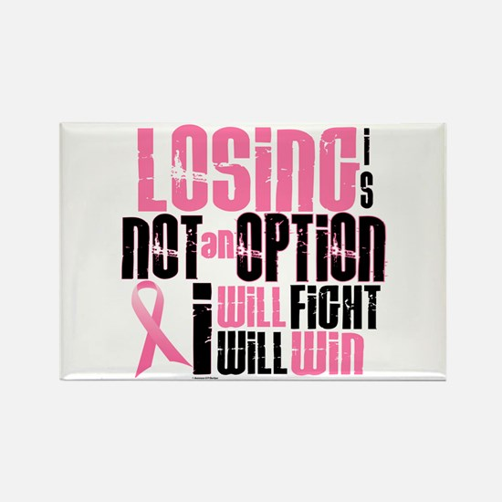 LOSING Is NOT An Option 6.2 (BC) Rectangle Magnet