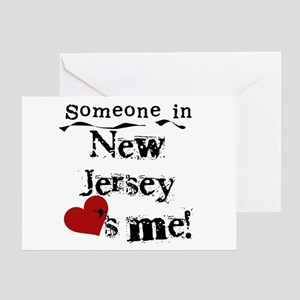 Someone in New Jersey Greeting Card