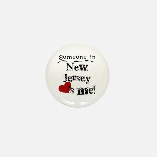 Someone in New Jersey Mini Button