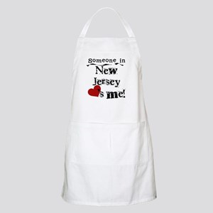 Someone in New Jersey BBQ Apron