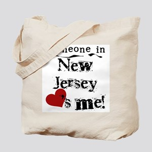 Someone in New Jersey Tote Bag