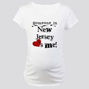 Someone in New Jersey Maternity T-Shirt
