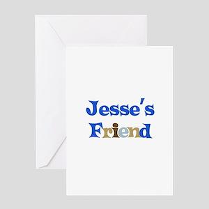 Jesse's Friend Greeting Card