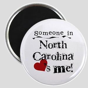 Someone in North Carolina Magnet