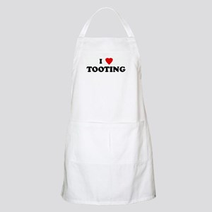I Love TOOTING BBQ Apron
