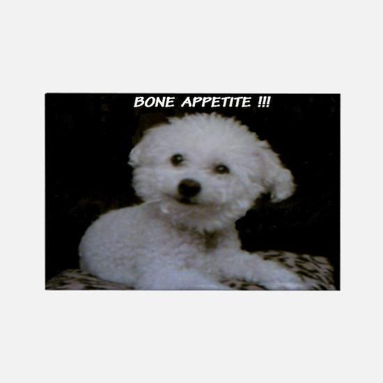 FRISKIE HAPPY FACE BONE APPETITE MAGNET