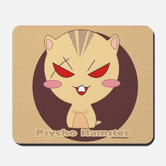 Psycho Hamster Mousepad