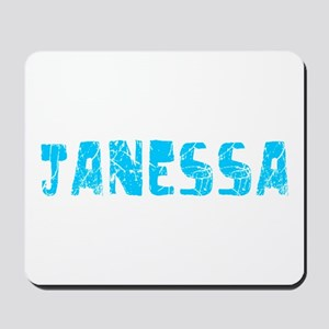 Janessa Faded (Blue) Mousepad