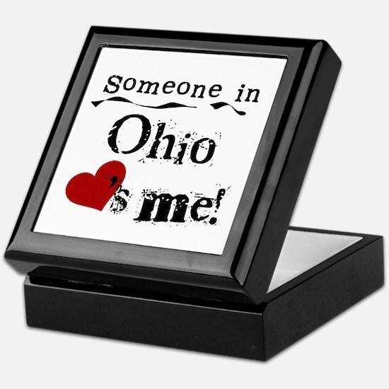 Someone in Ohio Keepsake Box
