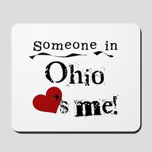 Someone in Ohio Mousepad